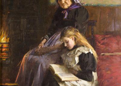 A Fireside Read, Ernest Rigg