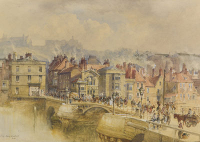 Untitled, Whitby Bridge, Mary Weatherill