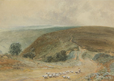 Moorland Scene, George Weatherill