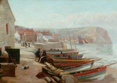 Rollet, Henry, active 1884-1916; Staithes