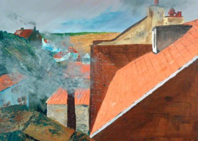 Toft, Philip, b.1964; Staithes Rooftops