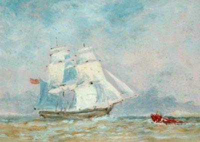 Weatherill, Richard, 1844-1923; Brig 'George' of Whitby