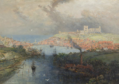 Whitby From Larpool, Richard Weatherill