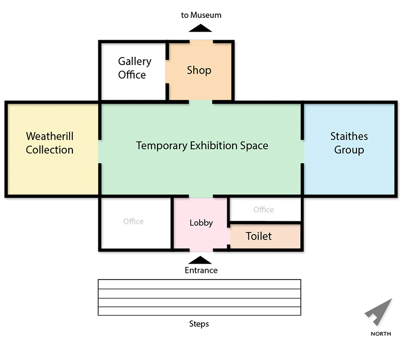 Pannett Gallery Floor Plan