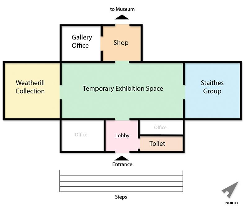 Pannett Gallery Floor Plan