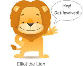 Elliot the Lion