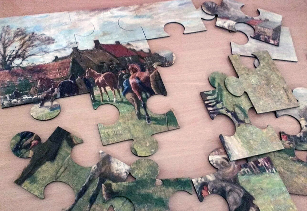 Large jigsaws