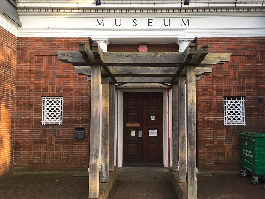 Rear Entrance Pannett Art Gallery