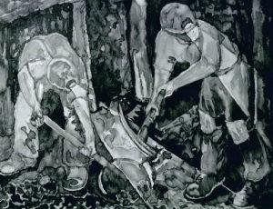 Miners by Derek Slater