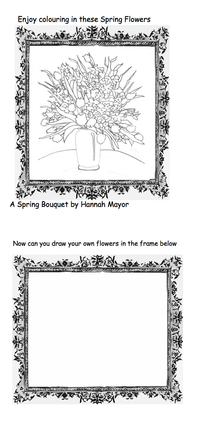 'A Spring Bouquet' by Hannah Mayor