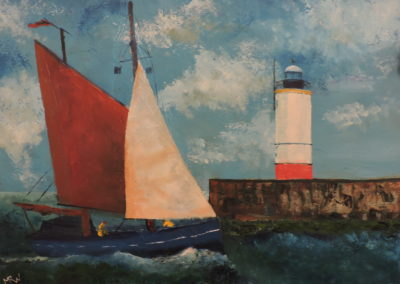 'Harbour Bound' by Mike Wiggins