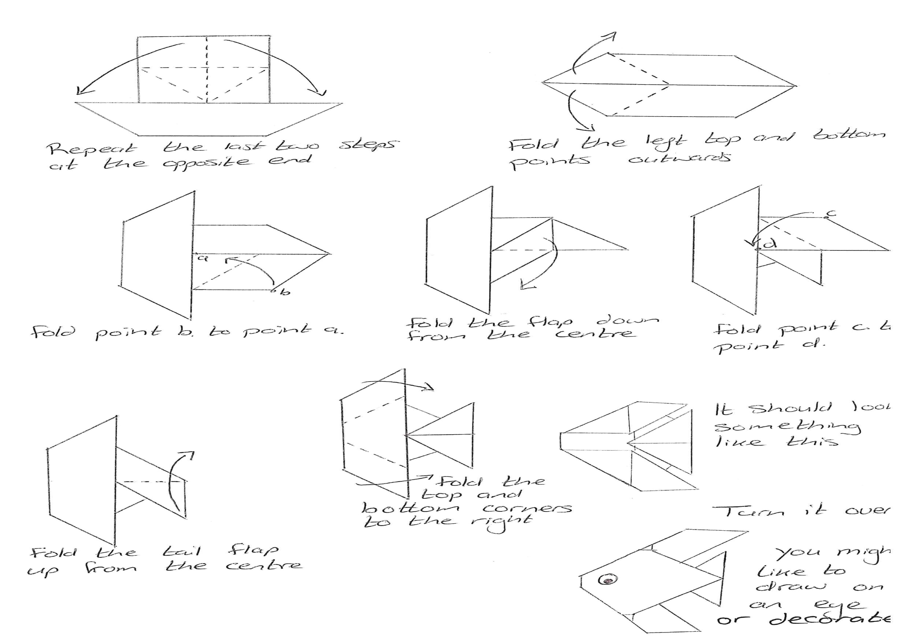 Origami Fish