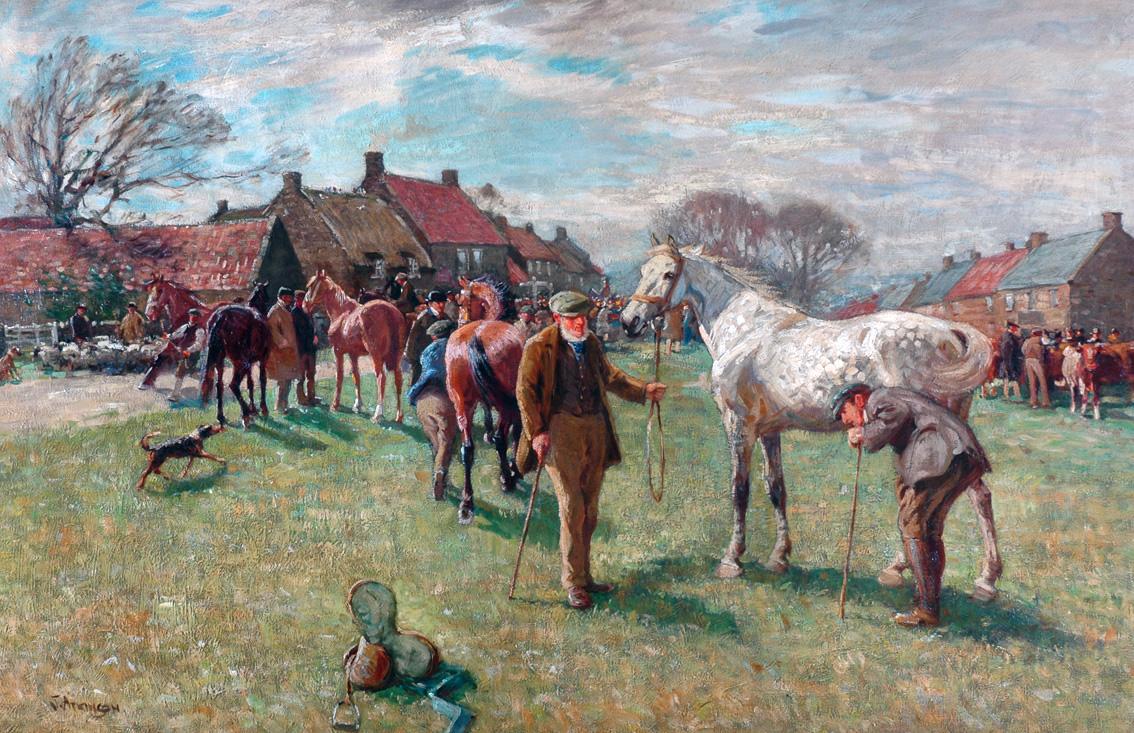 John Atkinson,  Egton Horse Fair