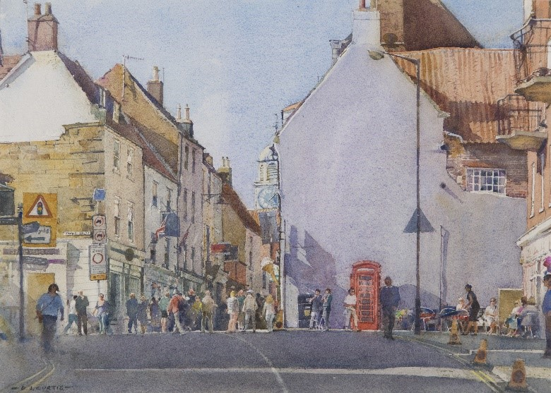 Pannett Art Gallery is Closed - Church Street, Whitby by David Curtis