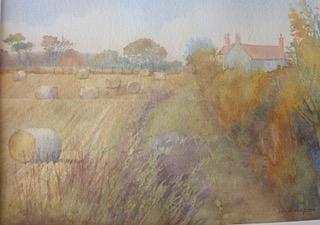 Banniel Flats Farm by Linda Lupton