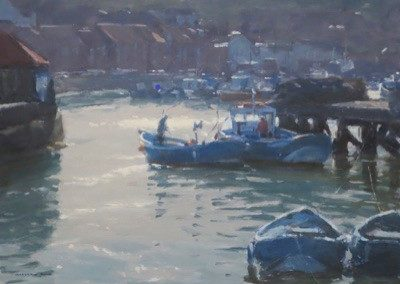 Fishing Boats, Whitby by Marshall Ould