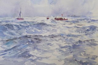 Trips to sea Christine Pybus