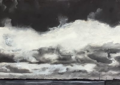 Humber out towards the Estuary by Jo Chesterman