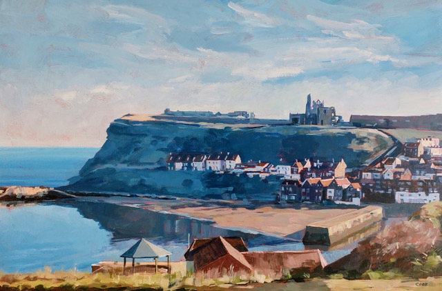 Afternoon, Whitby, - during lockdown by Colin Cook